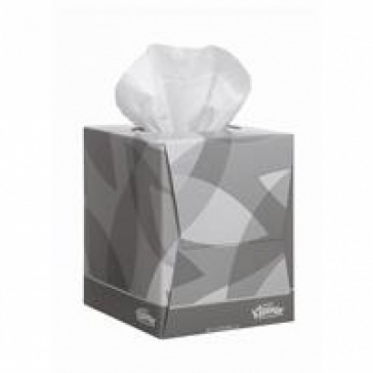 Kleenex Cubed White Facial Tissues