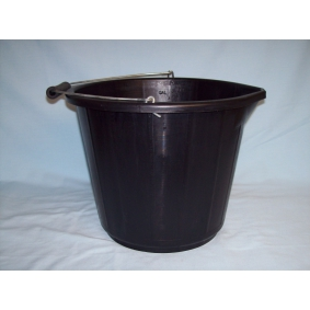 Black Builders Industrial Strength Bucket