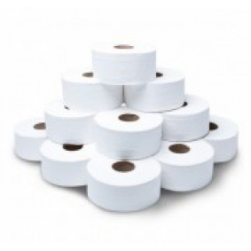 "Jangro 3"" Core Jumbo Toilet Roll"