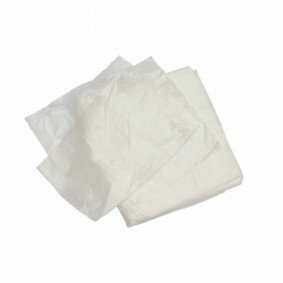 Clear Square Bin Liners /500/case