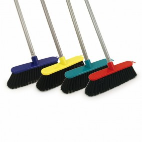 "12"" PVC Broom Complete"