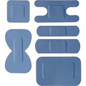 Assorted Blue Plasters