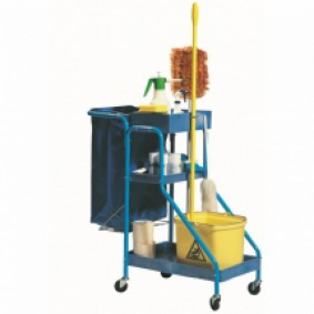 Port -A-Cart Cleaners Trolley