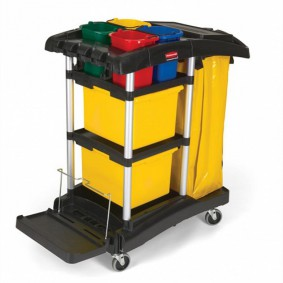 Rubbermaid Hygen OfficeTrolly