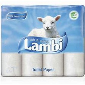 Lambi 3ply Toilet Roll