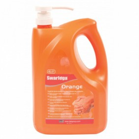 Swarfega Orange Hand Cleanser 4L Pump