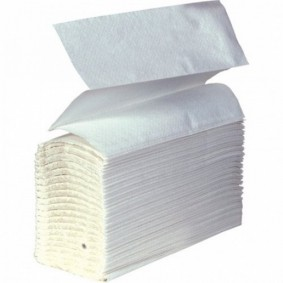 Z-Fold Hand Towel White1ply