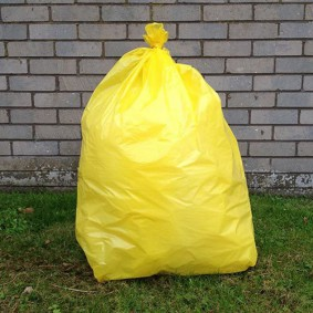 "18"" Yellow Sacks"