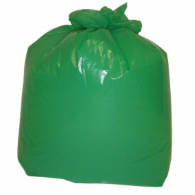 "18"" Green Sacks 200/case"