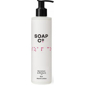 Soap Co Geranium& Rhubarb H/ Lotion