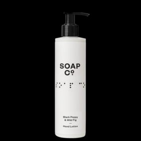 Soap Co  Black Poppy + Wild Fig H/Lotion