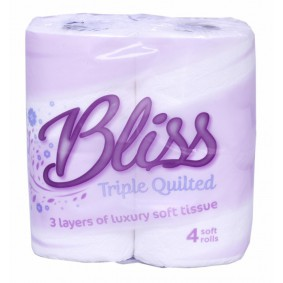 BLISS 3PLY TOILET ROLL