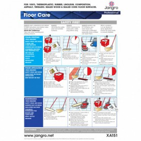 Floor Care Wall Chart