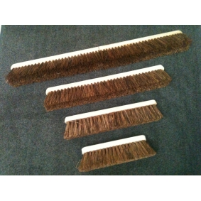 Stiff Wooden Broom Head